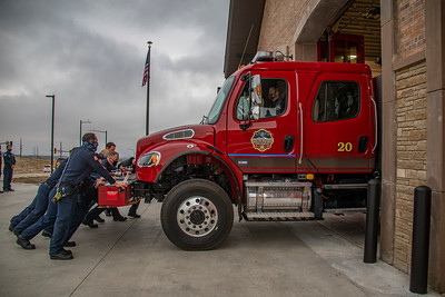 Station 20 In Service Opening
