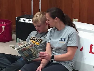 Kansas Reading Roadmap / LIFE Program - WK 2 Pics