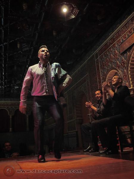 Flamenco in Spain, April 2014 - Torres Bermejas  Madrid
