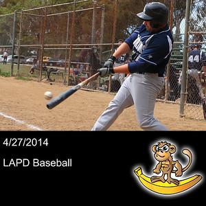 2014-04-27 LAPD Baseball