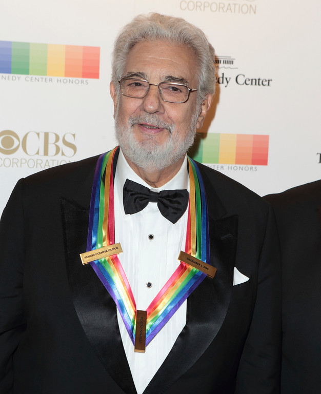 . Placido Domingo attends the 39th Annual Kennedy Center Honors at The John F. Kennedy Center for the Performing Arts on Sunday, Dec. 4, 2016, in Washington, D.C. (Photo by Owen Sweeney/Invision/AP)