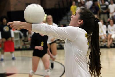 2017 Gilbert Girls Volleyball vs Mountain Pointe 9-13-17