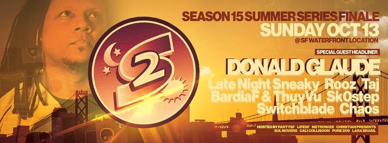 2013 Second Sunday Season Finale | Donald Glaude | 10.13.13