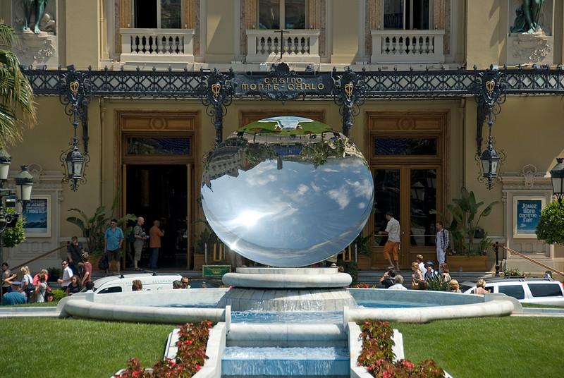 The fountain at Casino Square Garden - Monte Carlo, Monaco