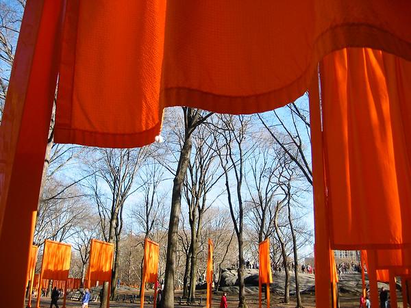 NYC Orange Gates (2005-02)