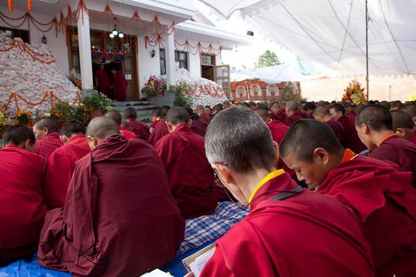 Kybaje Trulshik Rimpoche's Kudung-2011