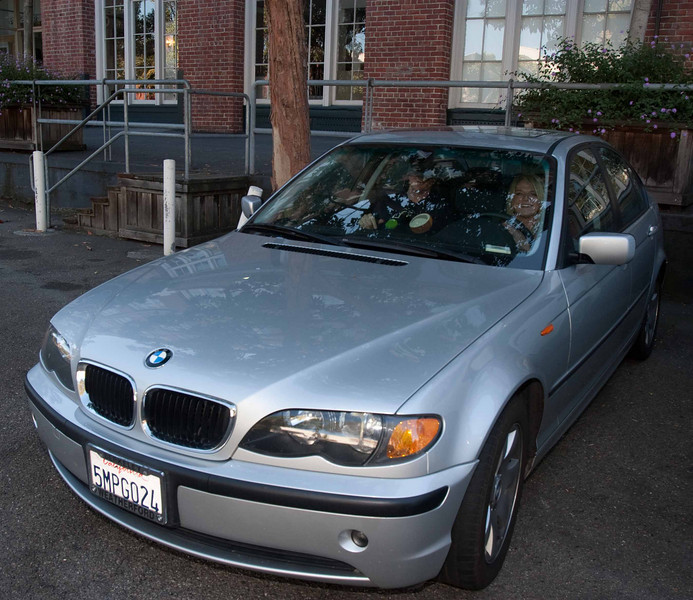 The BMW looks like it fits.
