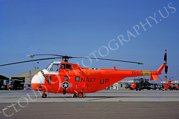Sikorsky H04S US Navy Military Helicopter Pictures