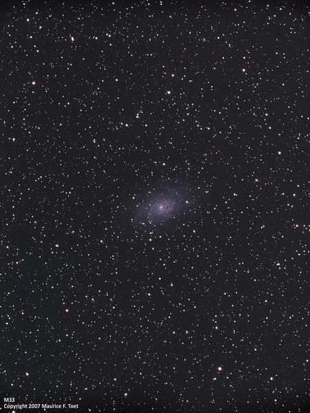 M33, Pinwheel Galaxy