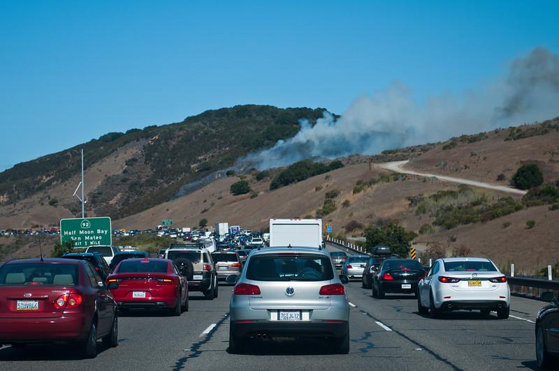 Belmont canyon fire 9-4-15