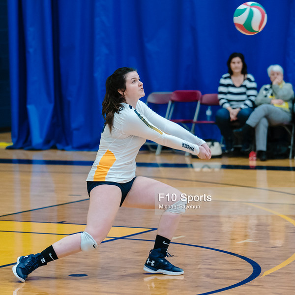 TORONTO, CANADA - Dec 28: during 2018 Humber Classic Women's Volleyball Invitational Match between Humber Hawks and AL at Humber Hawks Athletics Gym. Photo: Michael Fayehun/F10 Sports Photography