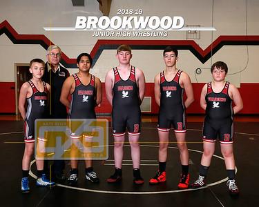 Brookwood JH wrestling WRE1819