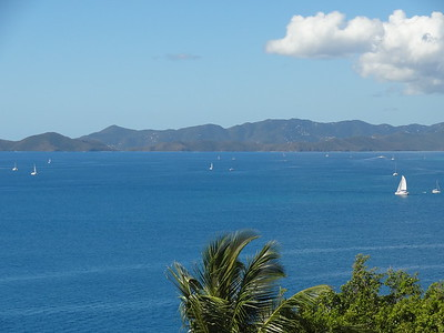 Tortola views from the house