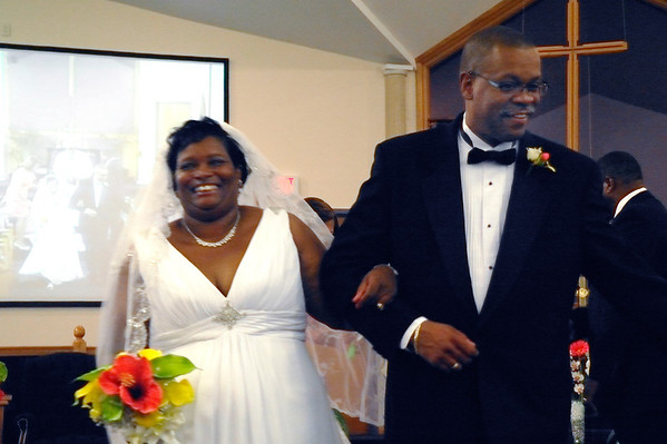 The Haskins Renew their Vows