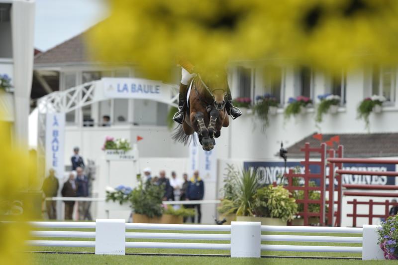 JUMPING : Albert VOORN sur Tobalio COUPE DES NATIONS 2012 -  CSIO DE LA BAULE 2012 - PHOTO : © CHRISTOPHE BRICOT