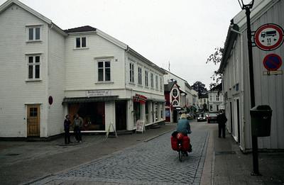 Di 16.6.98: Etappe 1, Kristiansand - Lillesand, 45km