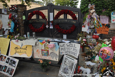 Neverland Ranch - after Michael Jackson's death - Los Olivos, CA - July 11, 2009