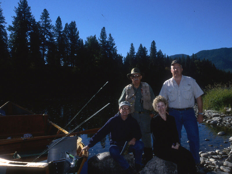 The Fishing Party, Clark Fork 2003