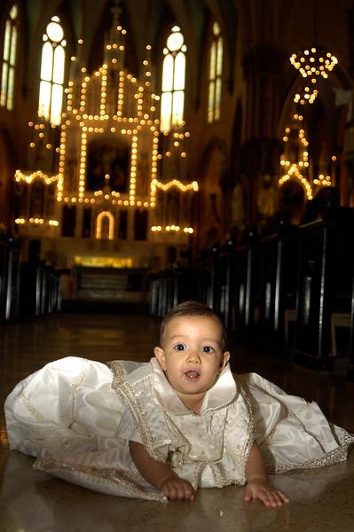 Baby Matese's  Baptism