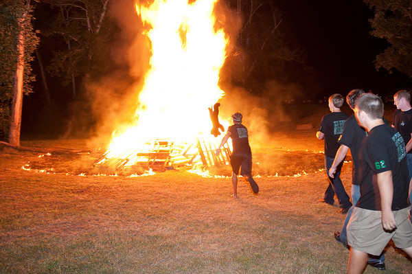 Bonfire Pep Rally (Panther BBQ), August 26, 2009