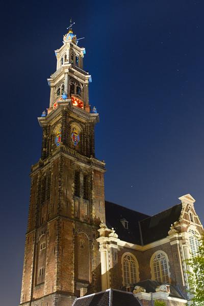 Westerkerk at Night