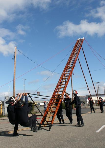 65' Ladder Raise Tribute