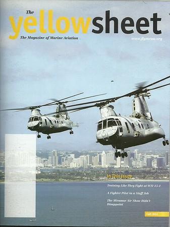 The Yellow Sheet-Marine Aviation Magazine
