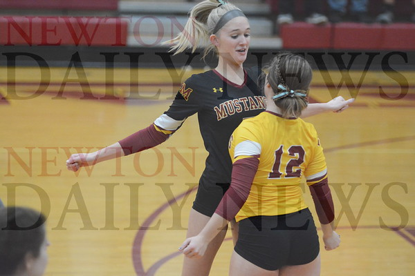 PCM Volleyball vs. South Hamilton 10-17-19