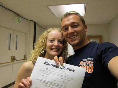2010-8-13  Wedding license and random
