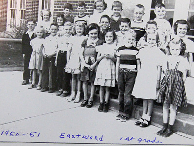 We're holding off on identifying all these kids until some alum with good eyes and even better memory shares a list of names with us.  Oh, sure, it's easy to get Ron Wineteer, Jerry Weber, and a couple of others, but who's the one...  E-mail your answers (or your very best guesses) to Dawes County Journal.  Thanks!