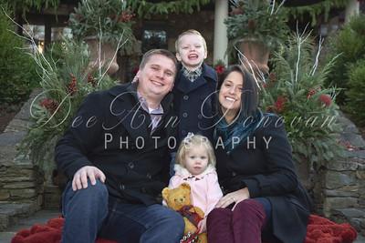 Dana & Brendan's Family Christmas Photo's