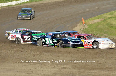 Cornwall Motor Speedway - 7/3/16 - Rick Young