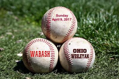 2017 Wabash at Ohio Wesleyan (04-09-17)