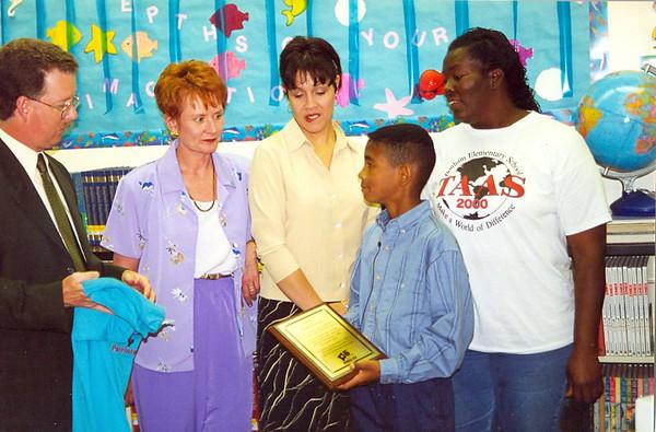 April 2000 Travis- Kids You Should Know