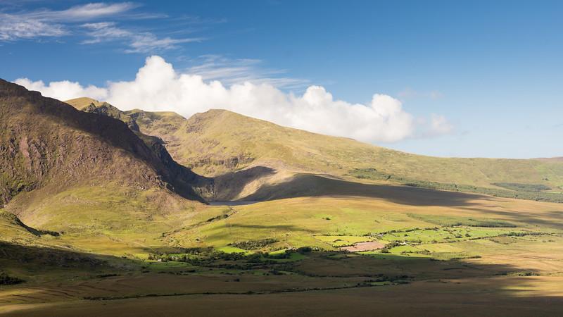 Brandon Mountain from Conor Pass