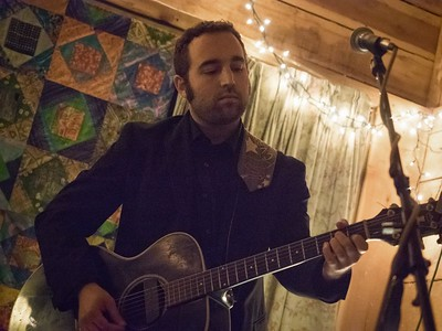 Curtis McMurtry at Saxapahaw, NC April 22 2017