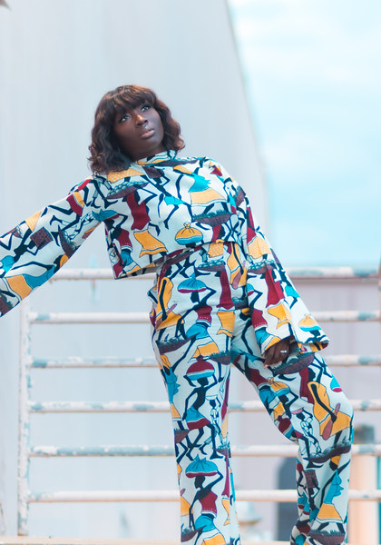 POP Style - Designs by NEM - Mudcloth 2 Piece