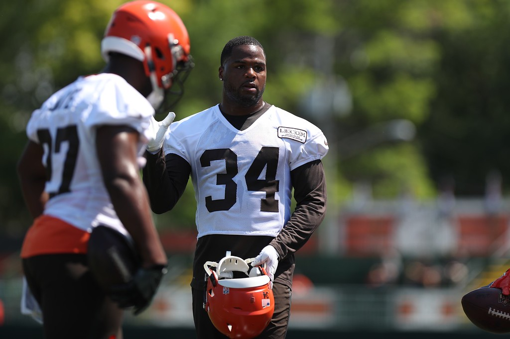 . Tim Phillis - The News-Herald Photos from Cleveland Browns training camp on July 26, 2018, in Berea.