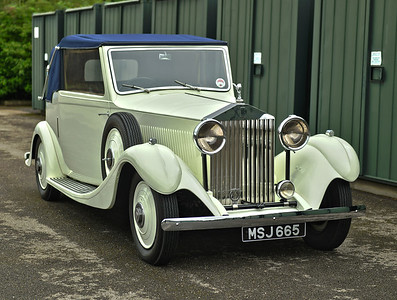 1934 Rolls Royce James Young 20/25 MSJ665