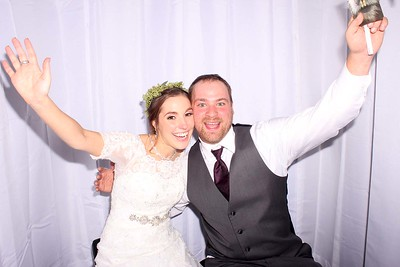 Rachel and Justin's Wedding Photobooth