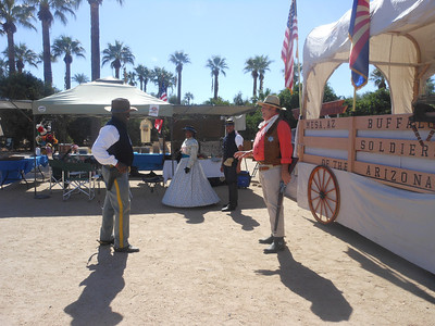 October 20th and 21st, 2012     Wild Western Festival - History meets Hollywood, Glendale, AZ..