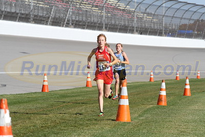 3.0 Miles, D3 GIRLS - 2016 MHSAA LP XC FINALS