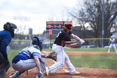 Mineral Point @ Dodgeville Baseball 4-15-19