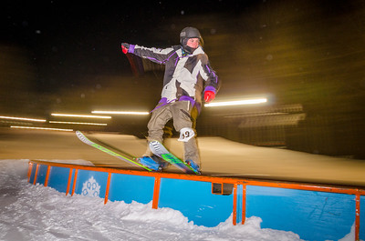 Nighttime Rail Jam 1-9-15