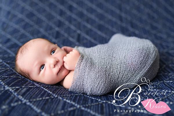 Asher Newborn Sneak Peeks