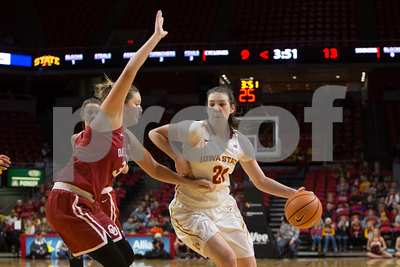 Oklahoma at Iowa State NCAA Womens Basketball 12/31/2017