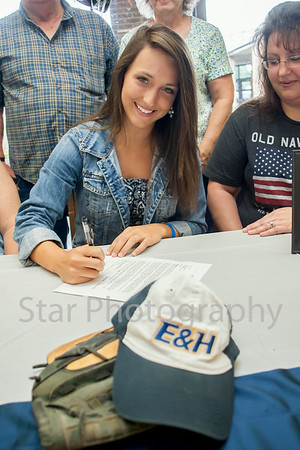 Danielle Loving Signing With Emory And Henry 06-30-14