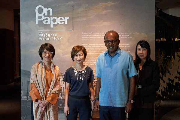 NLB Exhibition On Paper