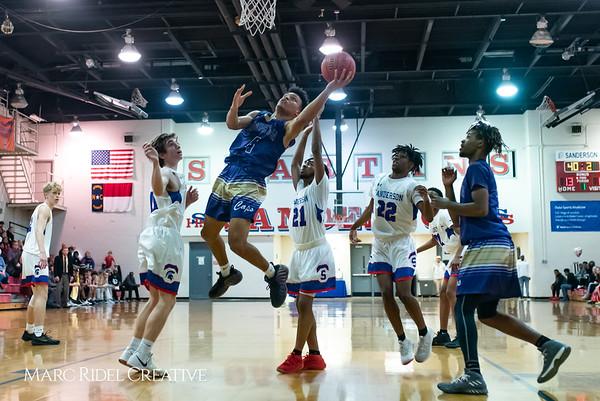 Broughton boys varsity basketball vs Sanderson. February 12, 2019. 750_6251