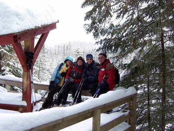 Forêt Montmorency  (20 au 22 février 2009)